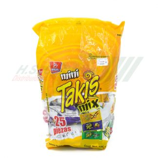 Barcel MINI TAKIS Mix 25 pzas