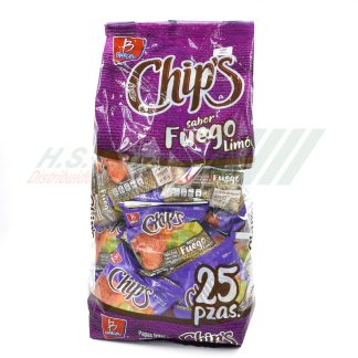 Barcel MINI CHIPS Fuego 25 pzas